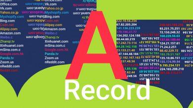 تصویر چگونه در سی پنل A رکورد ایجاد کنیم؟