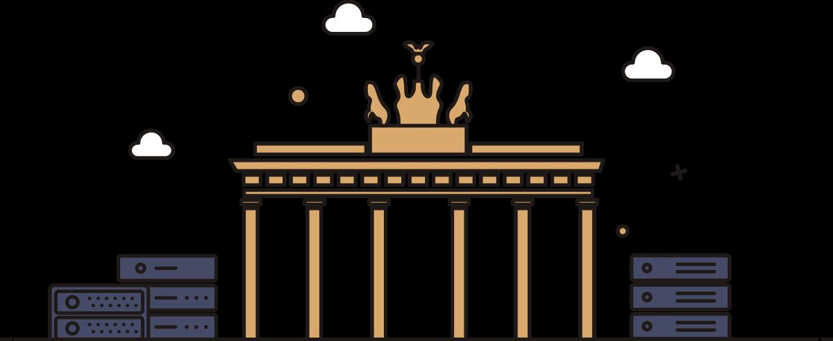 سرور اختصاصی آلمان